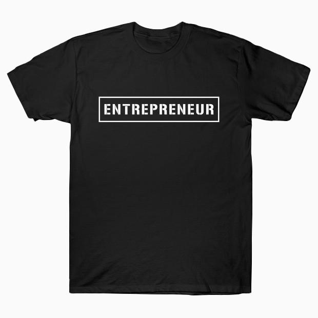 Entrepreneur text T-Shirt