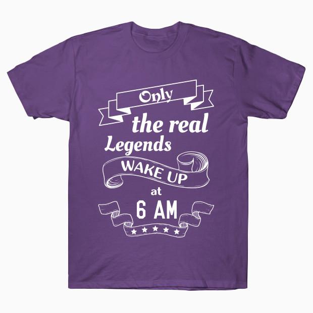6 AM Legends T-Shirt