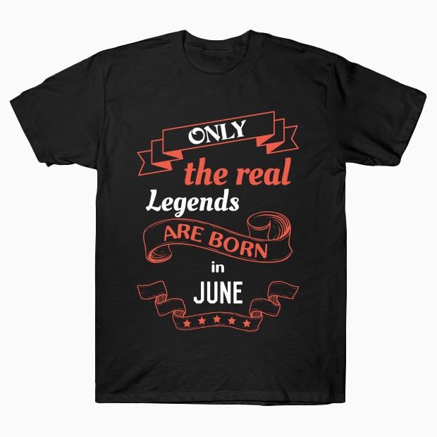 Birthday in June T-Shirt
