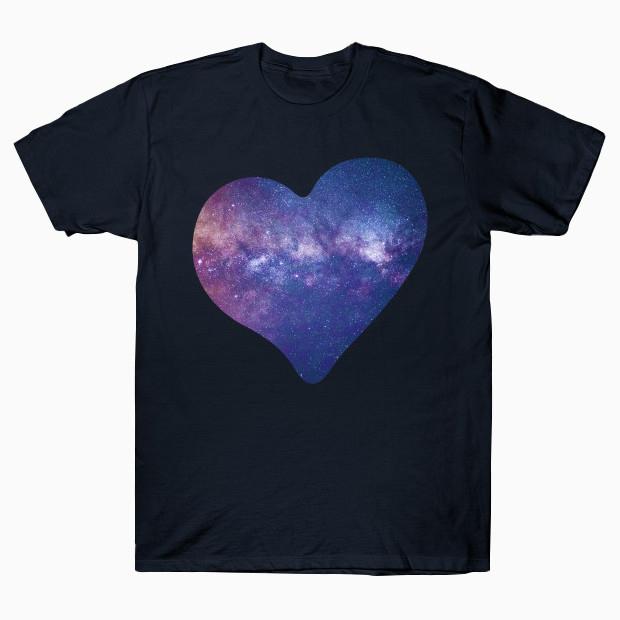 Galaxy heart T-Shirt