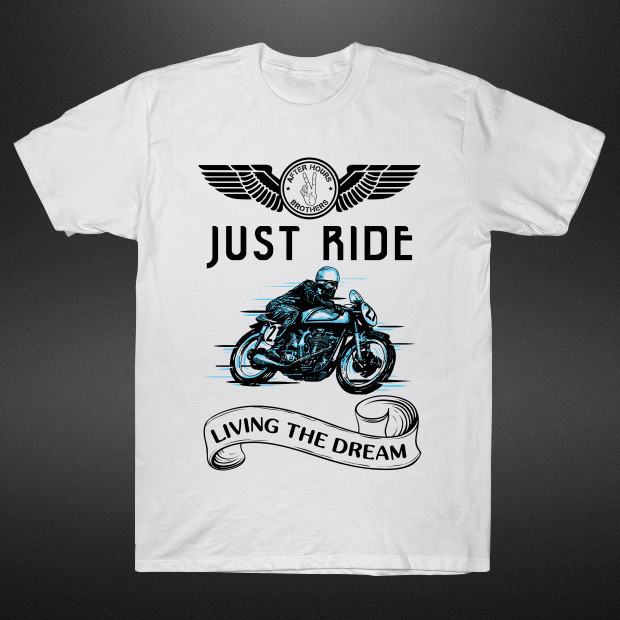 Just ride living the dream T-Shirt