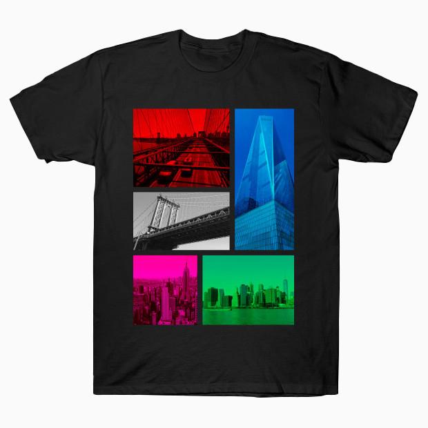 New York City Pop Art Photos T-Shirt