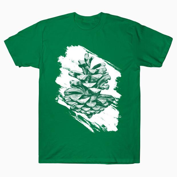 Artsy pine cone T-Shirt