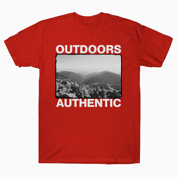 Outdoors authentic streetwear T-Shirt