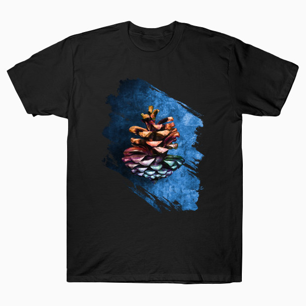 Painted pine cone T-Shirt