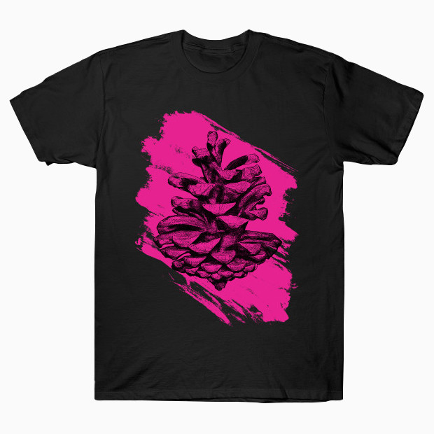 Pink pine cone T-Shirt
