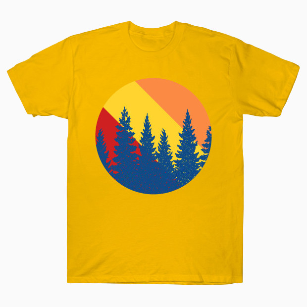 Pop art forest T-Shirt
