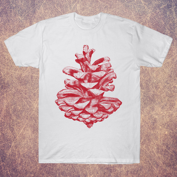 Red pine cone T-Shirt