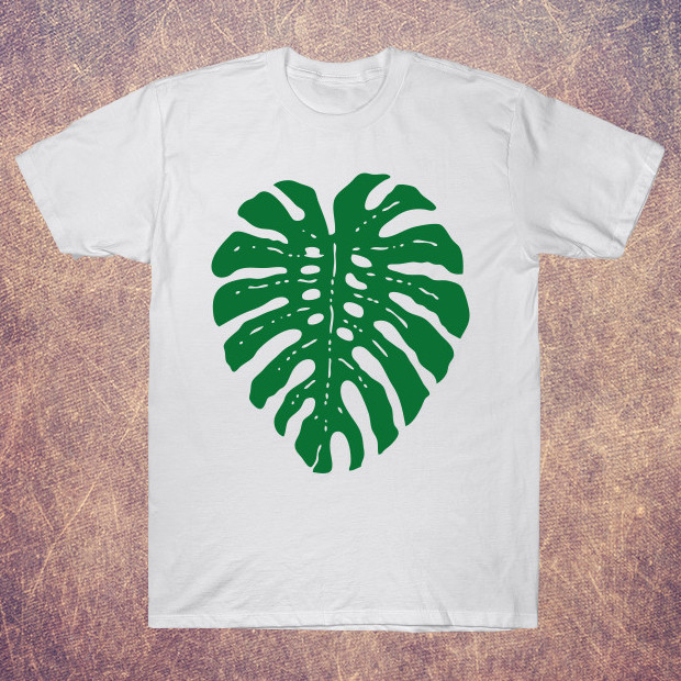 Tropical leaf T-Shirt
