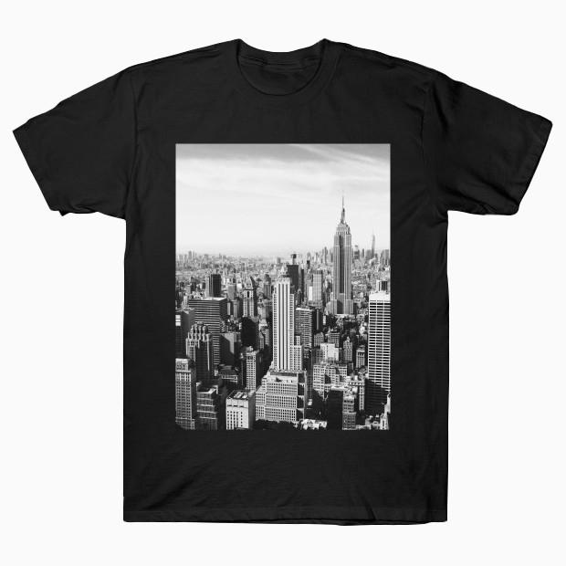 New York black and white photo T-Shirt