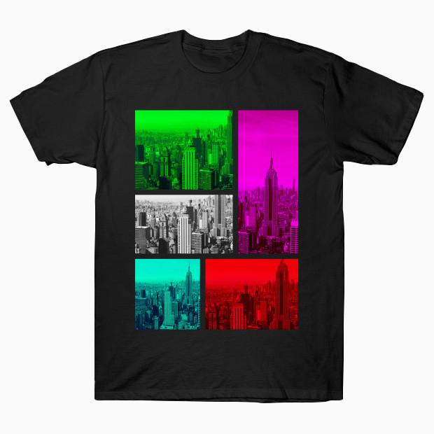 New York pop art photo T-Shirt