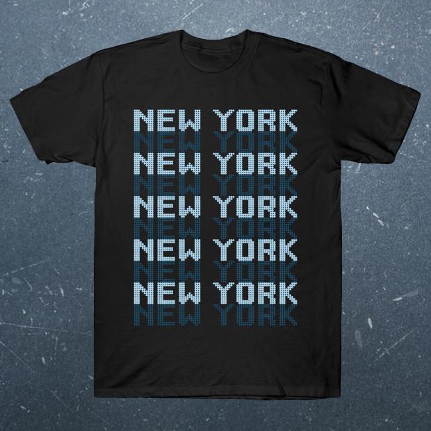 New York text T-Shirt