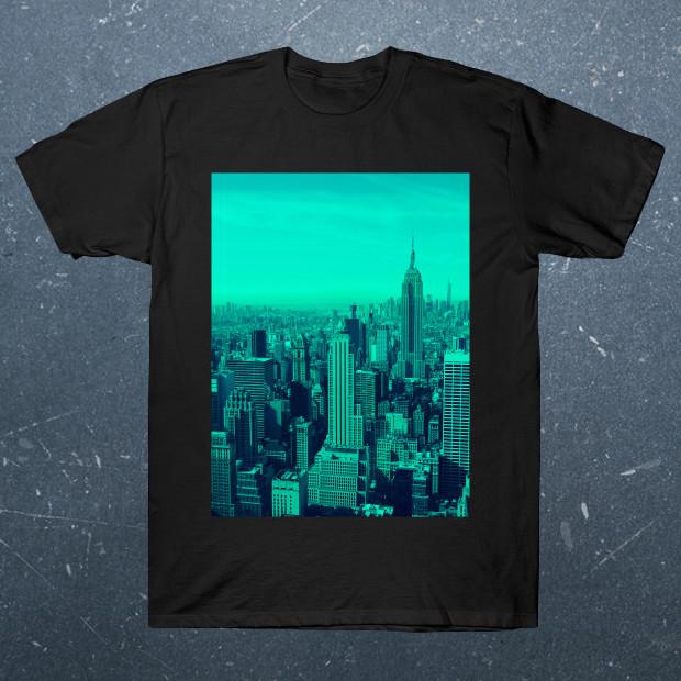 New york blue shades T-Shirt