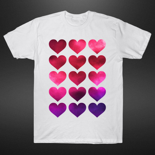 Painted hearts T-Shirt