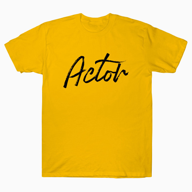 Actor signature T-Shirt