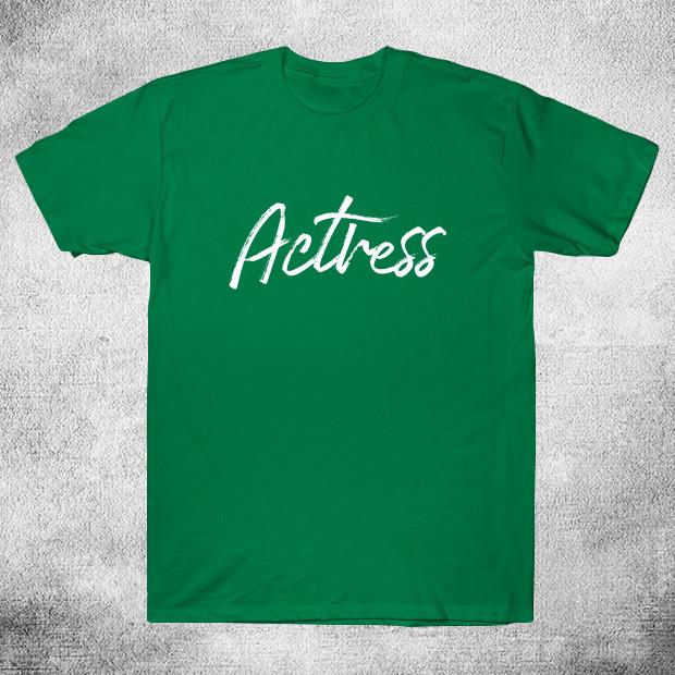 Actress calligraphy T-Shirt