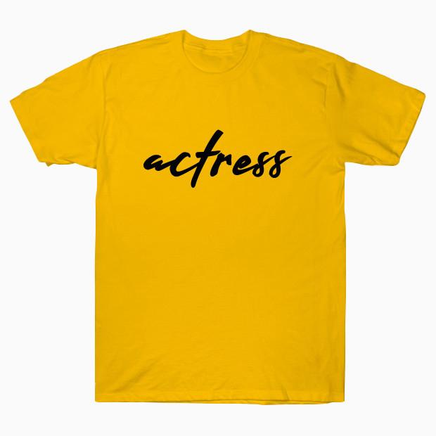 Actress signature T-Shirt