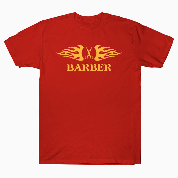 Barber red T-Shirt