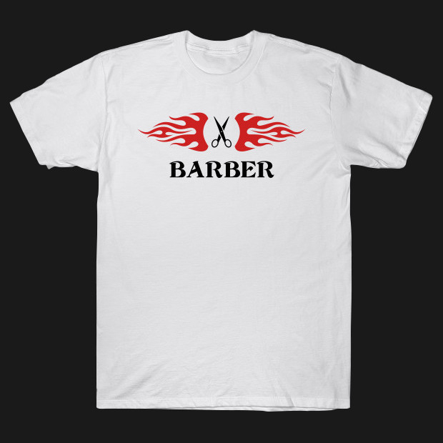 Barber white T-Shirt