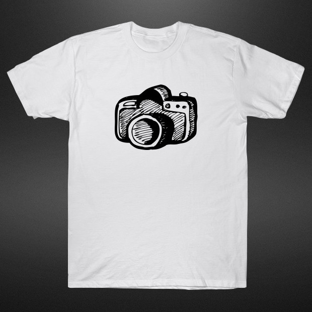 Camera drawing T-Shirt