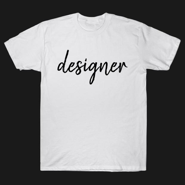 Designer signature T-Shirt