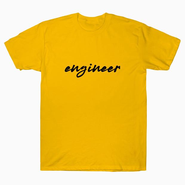 Engineer signature T-Shirt