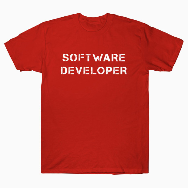 Software Developer T-Shirt
