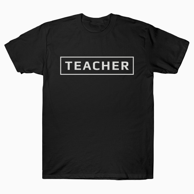 Teacher text T-Shirt