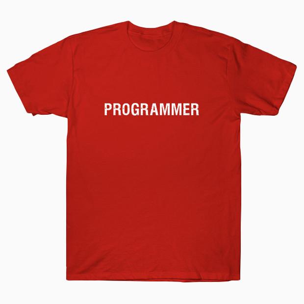 Programmer typography streetwear T-Shirt