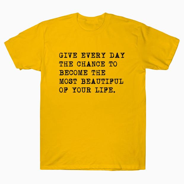 Inspirational Mark Twain Quote T-Shirt