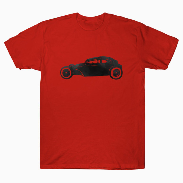 Car watercolor painting T-Shirt