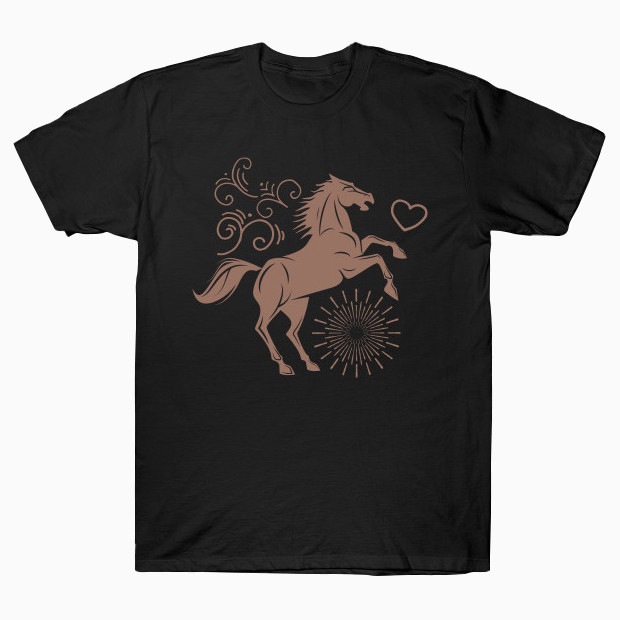 Cool jumping horse T-Shirt