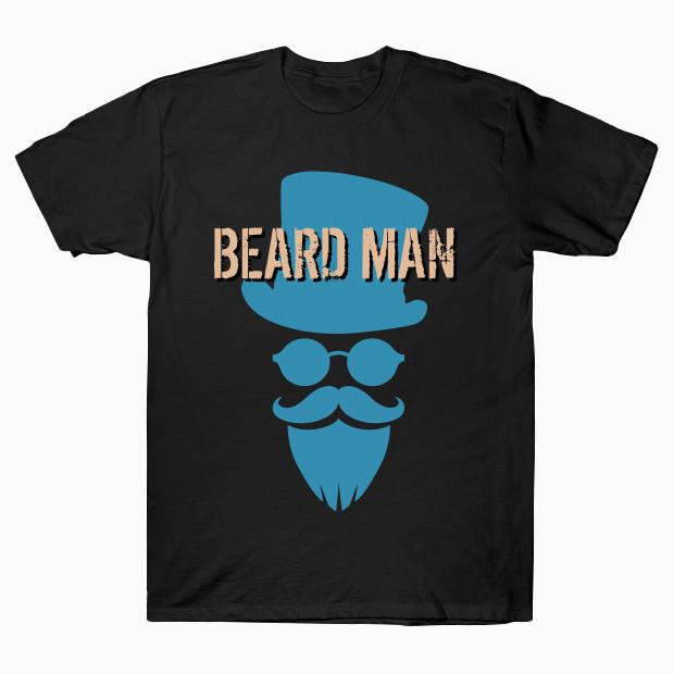 Noble beard man T-Shirt