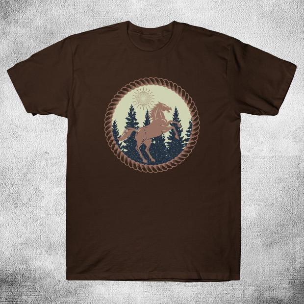 Vintage horse illustration T-Shirt