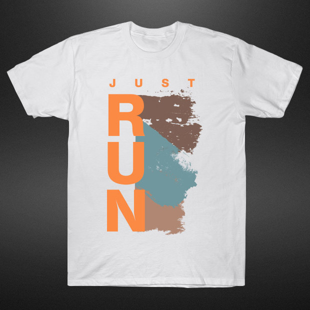 Authentic Just Run T-Shirt