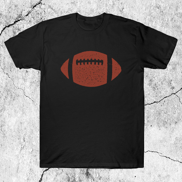 Classic American Football Ball T-Shirt