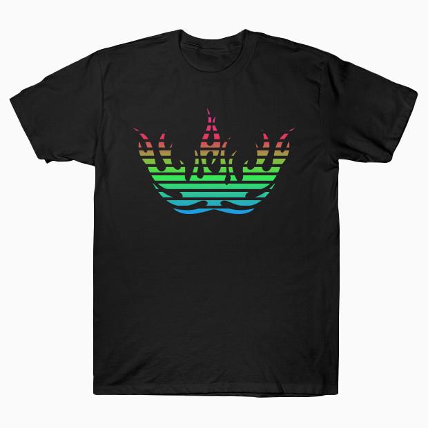 Epic RGB fire T-Shirt