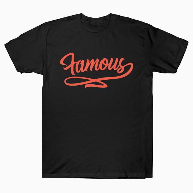 Famous orange T-Shirt