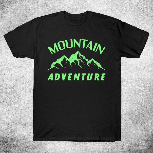 Green mountain adventure T-Shirt