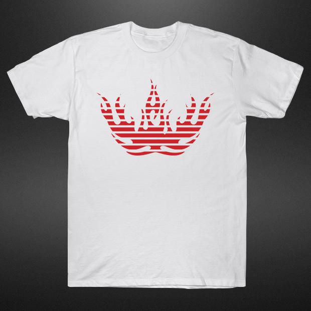 Red fire logo T-Shirt