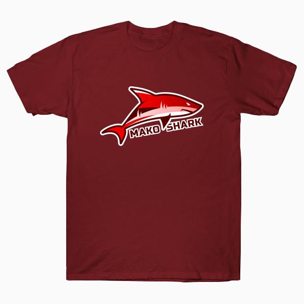 Red shark T-Shirt