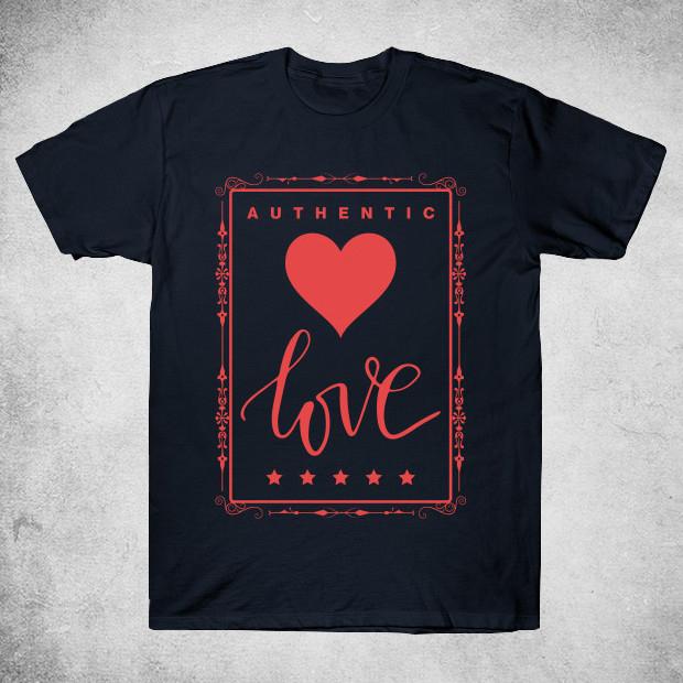 Authentic love T-Shirt