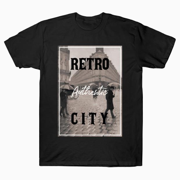 Authentic retro city T-Shirt