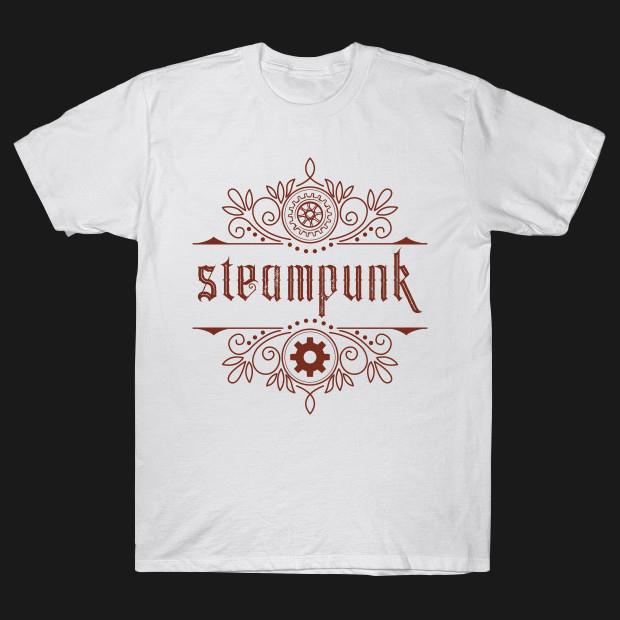 Steampunk retro style T-Shirt