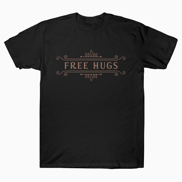 Vintage free hugs T-Shirt