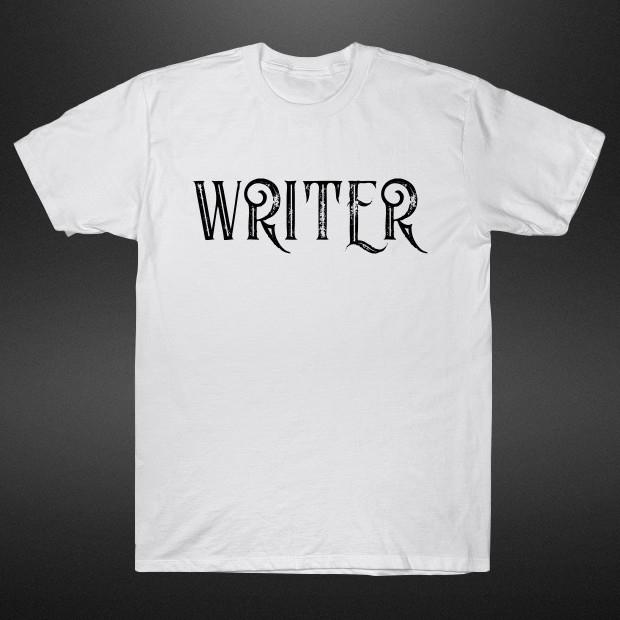 Writer typography T-Shirt