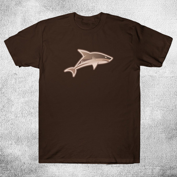 Retro shark drawing T-Shirt
