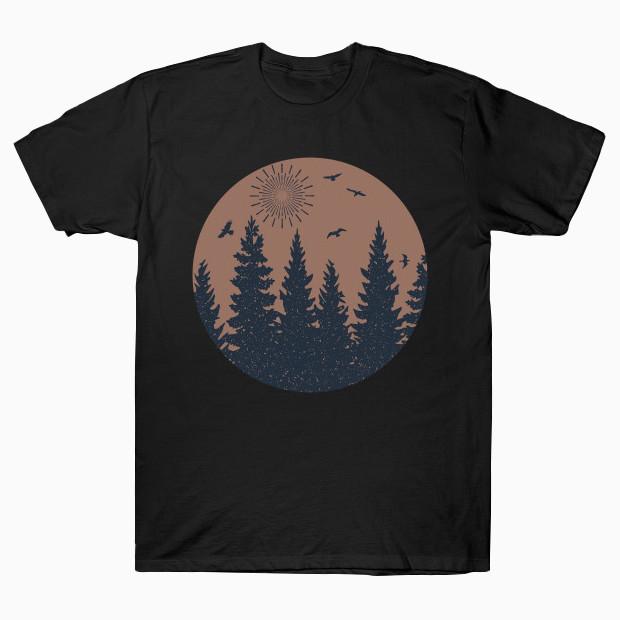 Vintage forest T-Shirt