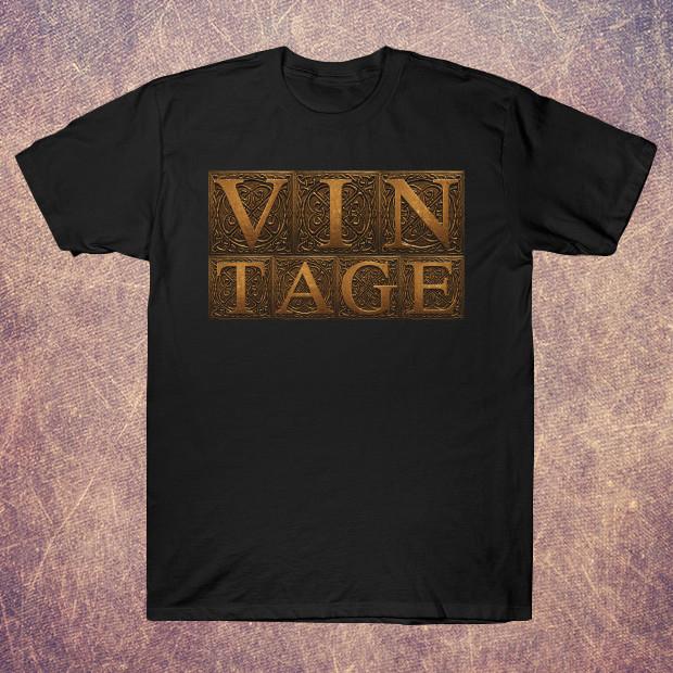 Vintage letters T-Shirt