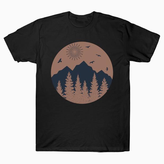 Vintage mountains T-Shirt